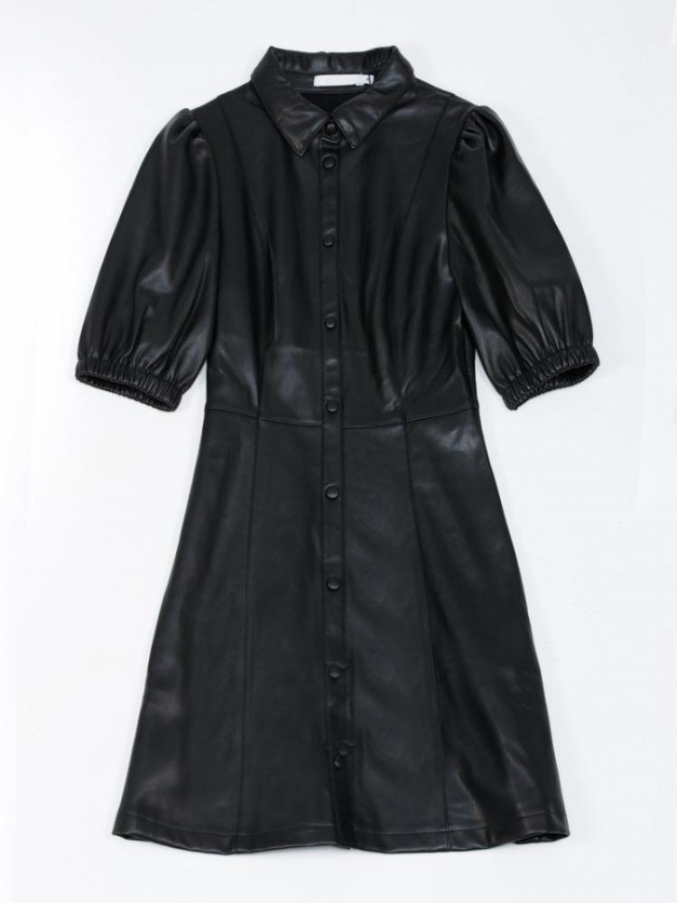 MILA PUFF SLEEVE DRESS logo
