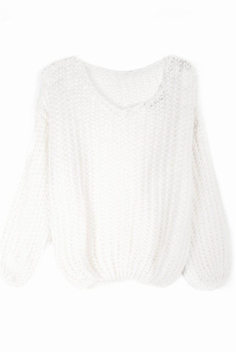 MARY KNIT OFF WHITE -