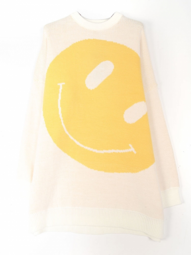 SMILEY SWEATERDRESS logo