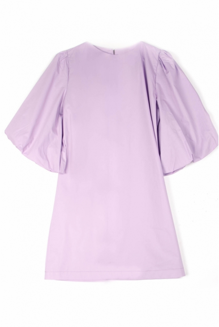 DINA COTTON DRESS LILA