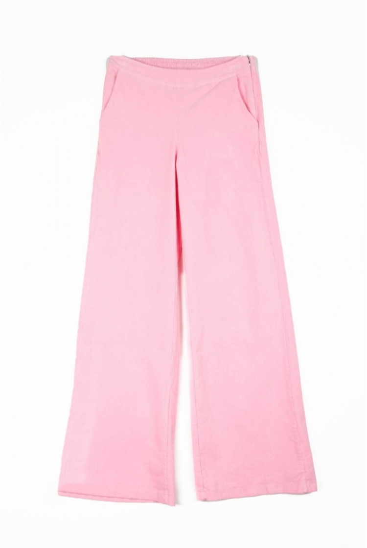 CELESTE CORDUROY TROUSERS CANDY PINK