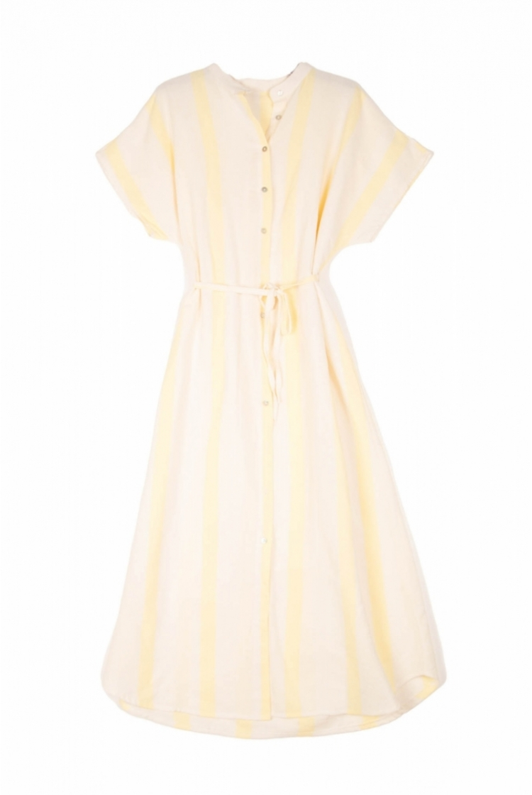 SORAYA LONG DRESS YELLOW
