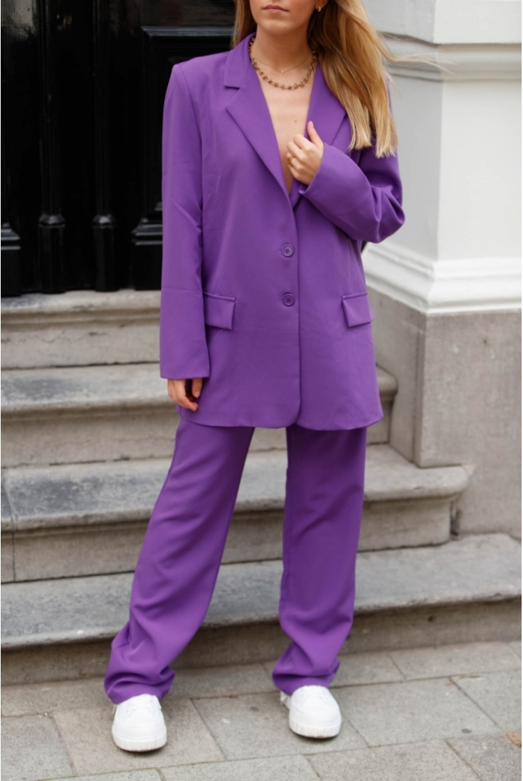 CLEO TROUSERS LAVENDER